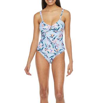 Mynah Tankini with Keyhole and High Leg Hipster