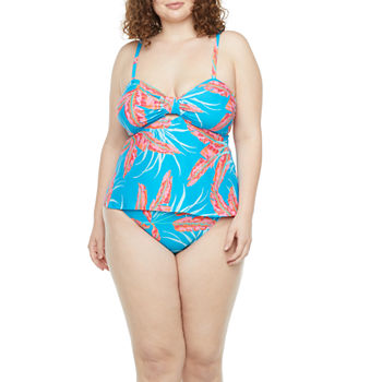 Mynah Plus Tankini and Hipster Bottom