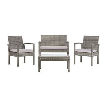 Bassey Patio Collection 4-pc. Conversation Set