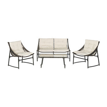 Berkane Patio Collection 4-pc. Conversation Set