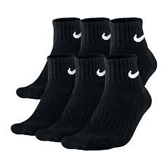 Nike® 6-pk. Men's Quarter Socks