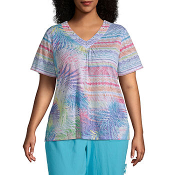 016313b7a744 Alfred Dunner Plus Size Tops for Women - JCPenney