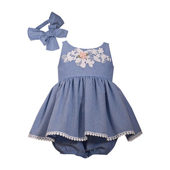 e8d3d85e09 Gerber Short Sleeve Babydoll Dress - Baby Girls. Add To Cart. New. Blue