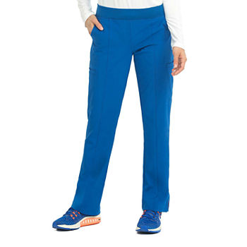 Med Couture Womens 8744P Yoga 2 Cargo Pocket Scrub Pants - Petite