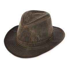 Indiana Jones™  Weathered Cotton-Blend Fedora Hat