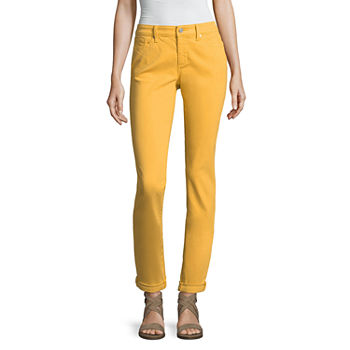 5181c9ada2f5 Denim Yellow Jeans for Women - JCPenney
