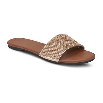 53a0b1821d97 Mixit Yellow Women s Sandals   Flip Flops for Shoes - JCPenney