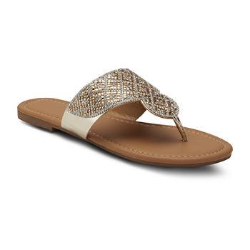 4e1a7664d Flat Sandals Women's Sandals & Flip Flops for Shoes - JCPenney