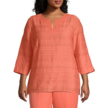 0dc9218b06 Alfred Dunner Plus Size Tops for Women - JCPenney