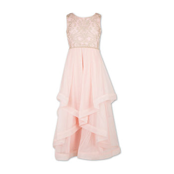 98b043c78 Speechless Embellished Sleeveless Floral Maxi Dress Girls. Add To Cart.  Shop Kids Americana. New. White Gold