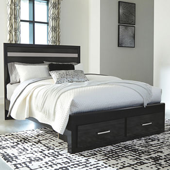 Signature Design by Ashley® Starberry Panel Bed with 2-Drawer Storage
