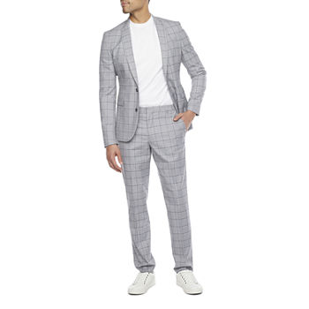JF Ultra Gray Windowpane - Slim