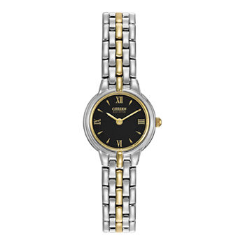 Citizen Corso Womens Two Tone Stainless Steel Bracelet Watch - Ew9334-52e