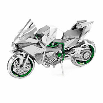 Fascinations ICONX 3D Metal Model Kit - Kawasaki Ninja H2R