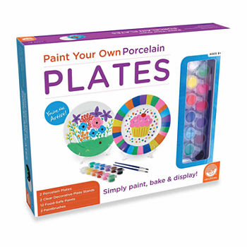 MindWare Paint Your Own Porcelain Plates