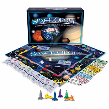 Space-opoly Board Gmae