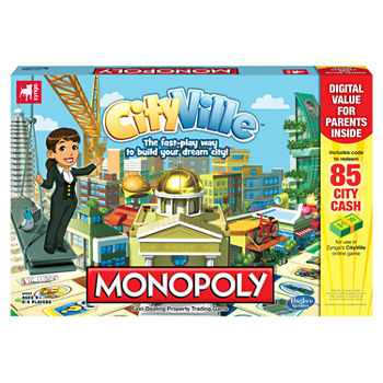 Monopoly CityVille - Board Game