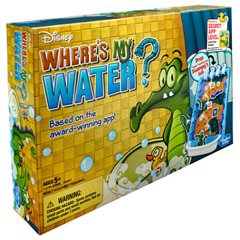 Hasbro Disney Where's My Water? Signature Game