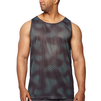 64cde6025e894 Sleeveless Blue Shirts for Men - JCPenney
