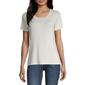 bf1a6fe2ab83 Graphic T-shirts Tops for Women - JCPenney
