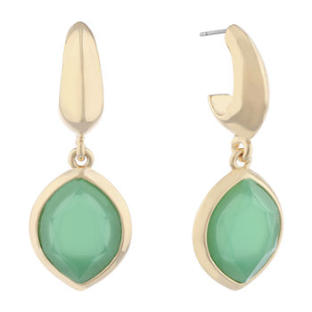 9c59e058505c7 Drop Earrings Green Fashion Earrings for Jewelry & Watches - JCPenney