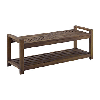 Walker Edison Patio Bench