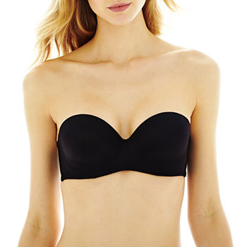 Ambrielle Everyday Lightly Lined Underwire Strapless Bra-306305