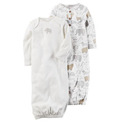 Carter's Unisex Long Sleeve 2-pk. Gown - Baby