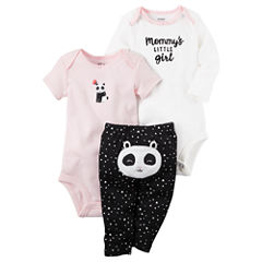 Carter's Little Baby Basics Girl Turn-Me-Around Set