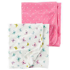 Carter's 2-pc. Dots Blanket - Girls