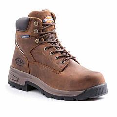 Dickies Stryker Mens Slip Resistant Steel Toe Work Boots