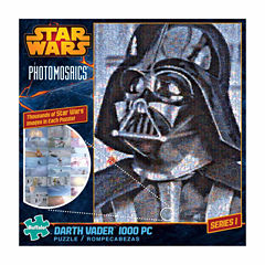Buffalo Games Star Wars Photomosaics - Darth Vader: 1000 Pcs