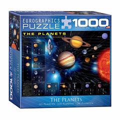Eurographics Inc The Planets: 1000 Pcs