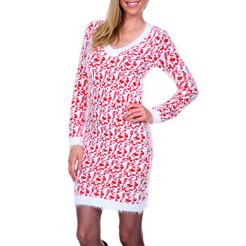 e8c11d7cf61 Red Sweater Dress - Shop JCPenney