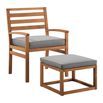 Walker Edison 2-pc. Patio Lounge Set