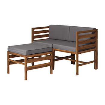 Walker Edison 3-pc. Patio Lounge Set