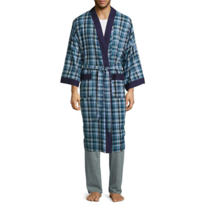 izod long sleeve robe - Mens Bathrobes