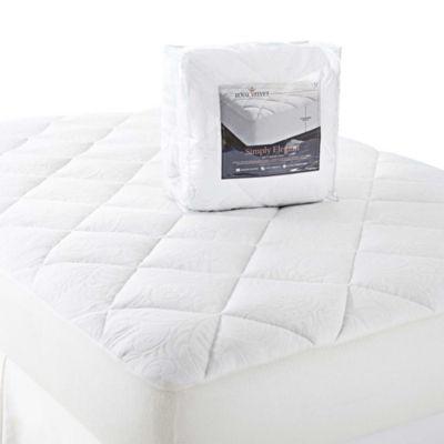 royal velvet simply elegant mattress pad - Xl Twin Mattress