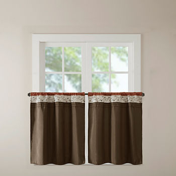 24 Inch Orange Curtains Drapes For Window