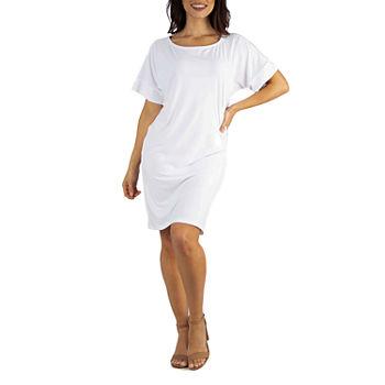 034011943733 Women's Little White Dress, White Graduation Dresses - JCPenney