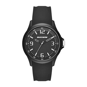Skechers Hobart Mens Black Strap Watch-Sr5120