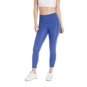 Champion Womens Mid Rise Full Length Leggings