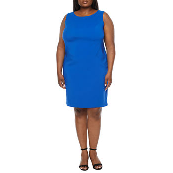 Alyx-Plus Sleeveless Sheath Dress