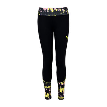 Puma Big Girls 7/8 Ankle Leggings
