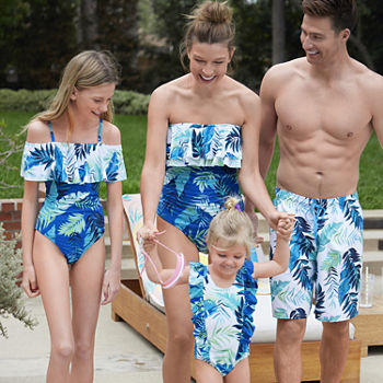 Peyton & Parker Tropical Family Matching Swimwear