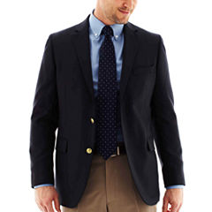 Stafford® Executive Hopsack Blazer - Portly