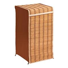 Honey-Can-Do® Tall Bamboo Wicker Hamper