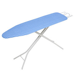 Honey-Can-Do® 4-Leg Ironing Board with Retractable Iron Rest