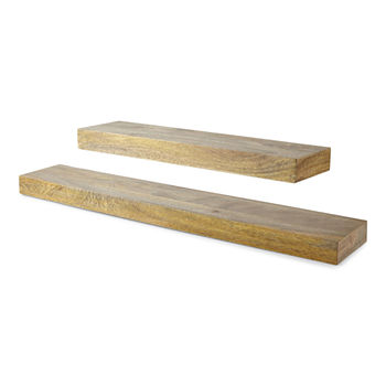 Linden Street Mango Wood Wall Shelf Collection