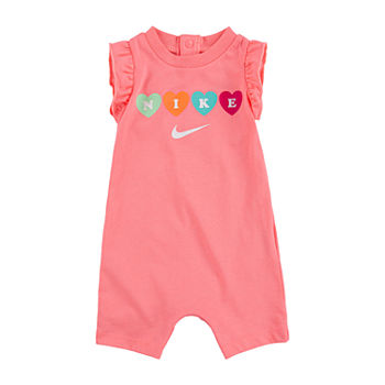 Nike Baby Girls Short Sleeve Romper